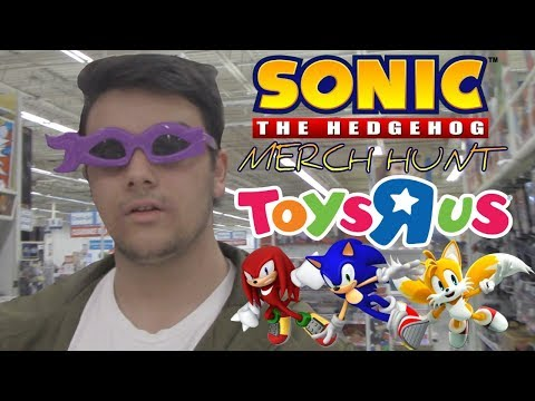 Sonic Merch Hunt - Toys R Us Adventures