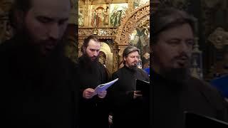 Colinda si bucurie in ajun de Craciun cu Sebastian Stan si parintii de la manastire.
