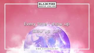 BLACKPINK - WHISTLE ซับไทย [เนื้อร้อง+คำแปล]
