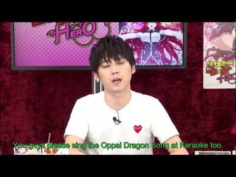 (Eng Sub) Kaji Yuki talks about the Oppai Dragon Song (Highschool DxD)