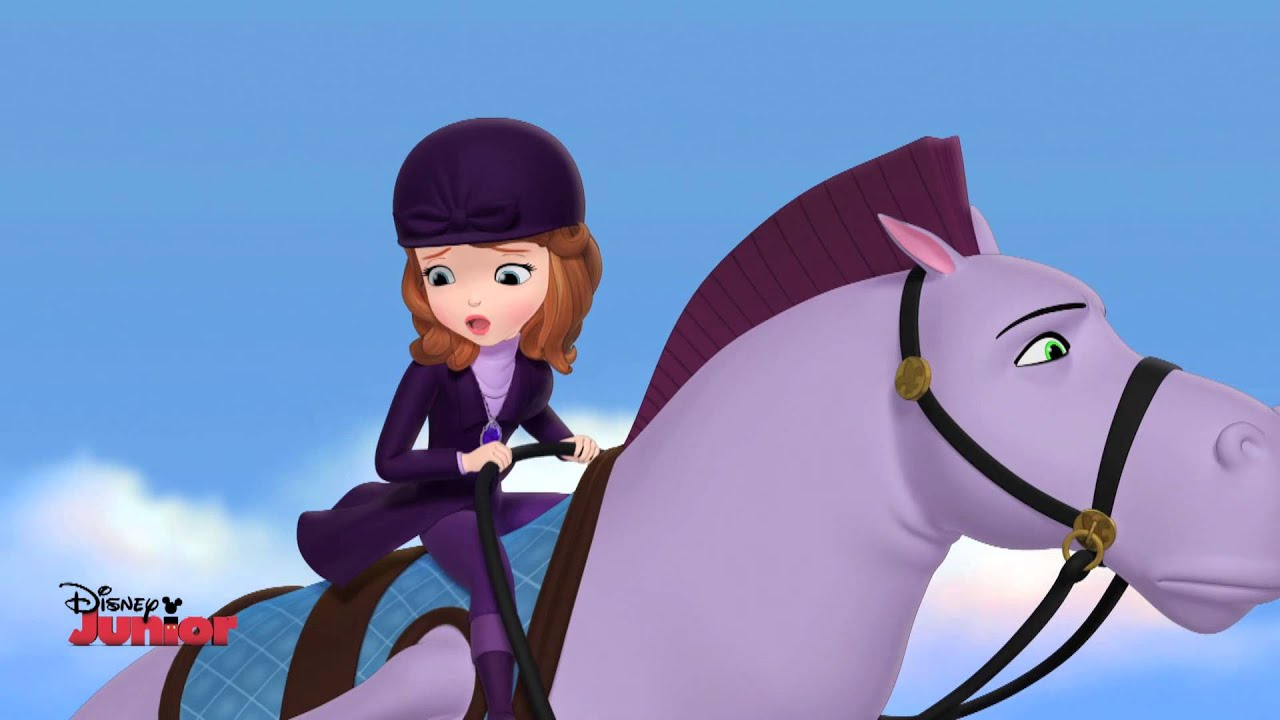 Sofia The First Finding Clover Youtube