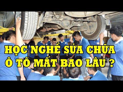 Học nghề sửa chữa ô tô mất bao lâu ?