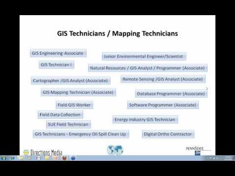 The New Geospatial Jobs and How to be Ready for Them