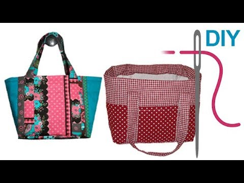 tasche kindertasche strandtasche n hen f r anf nger diy alles dabei youtube. Black Bedroom Furniture Sets. Home Design Ideas
