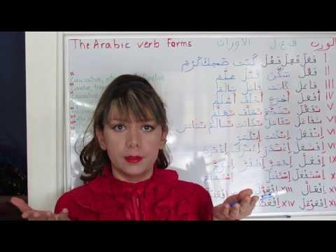 The Ten Arabic Verb Forms - Lesson 13