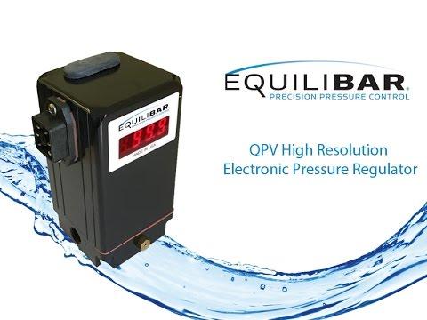 QPV High Resolution Electronic Pressure Regulator