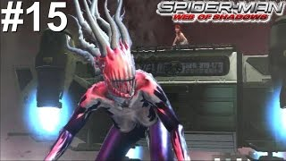Spider-Man Web Of Shadows PS3 Gameplay #15 [Spidey vs Symbiote Black Cat]