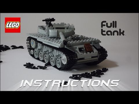 lego tank instructions m18 hellcat of ww2 youtube