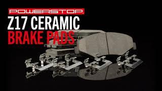 homepage tile video photo for Z17 Evolution Ceramic Brake Pads | PowerStop