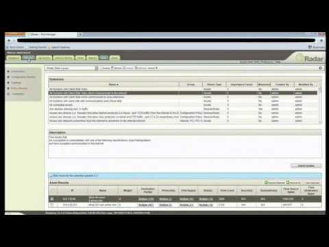 IBM QRadar SIEM, QRadar (DEMO from WeSecure) - YouTube