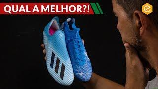ADIDAS X 19+ vs Nike MERCURIAL SUPERFLY 7 - QUAL A MELHOR CHUTEIRA DE VELOCIDADE?