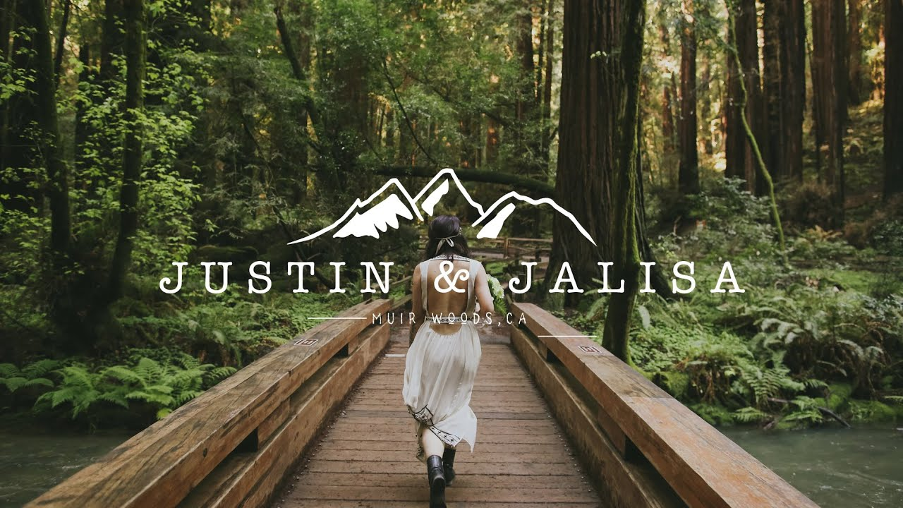 Adventurous Elopement Wedding Video In Muir Woods