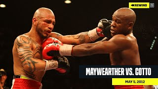 FULL FIGHT | Floyd Mayweather vs. Miguel Cotto (DAZN REWIND)
