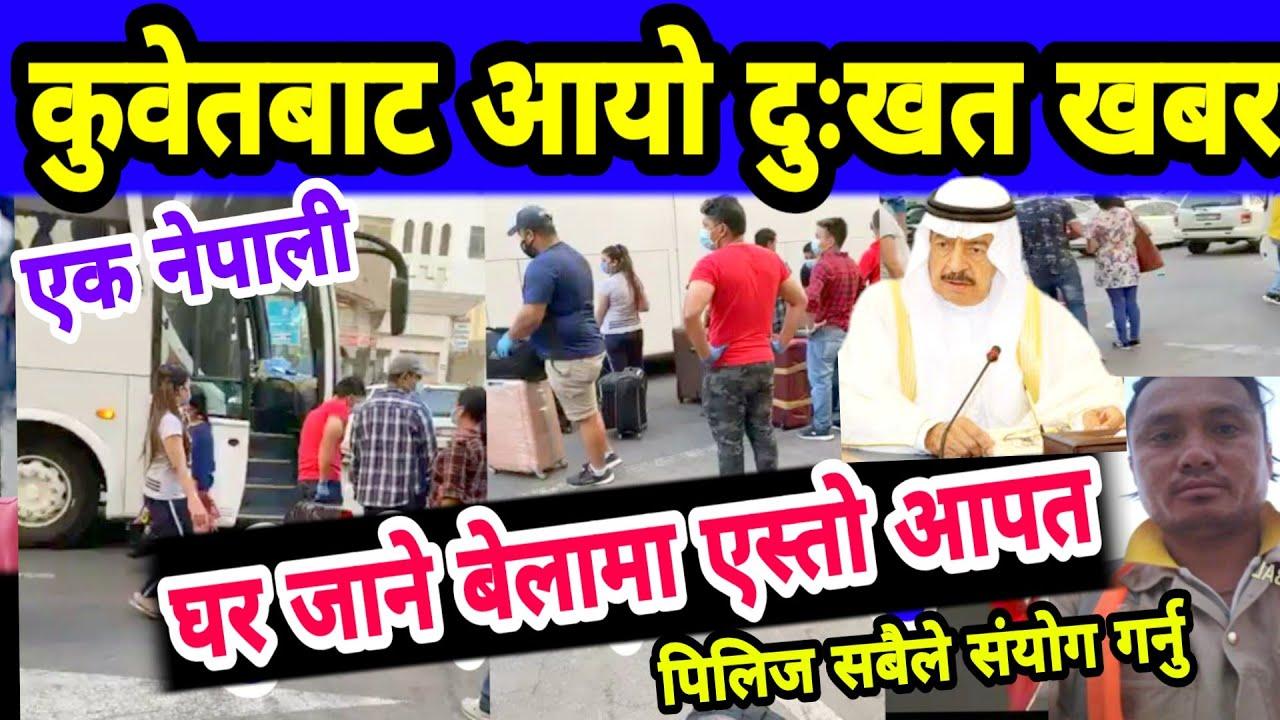 भर्खरै कुवेतबाट आयो  दुःखत खबर वाको परिवारलाई कस्तो भाको होला Qatar,UAE,kuwait Saudi Nepali Updates