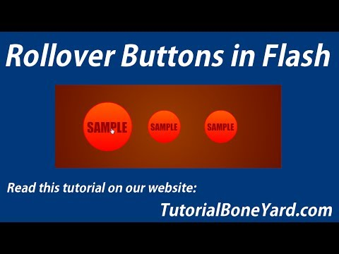 Rollover Flash Buttons