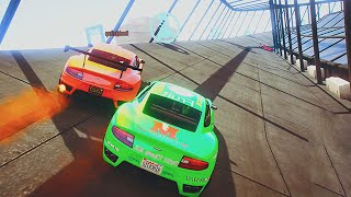 EXTREME NASCAR TRACK! (GTA 5 Funny Moments)