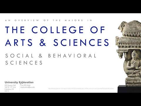 College Overview: Arts & Sciences (Social & Behavioral Sciences)