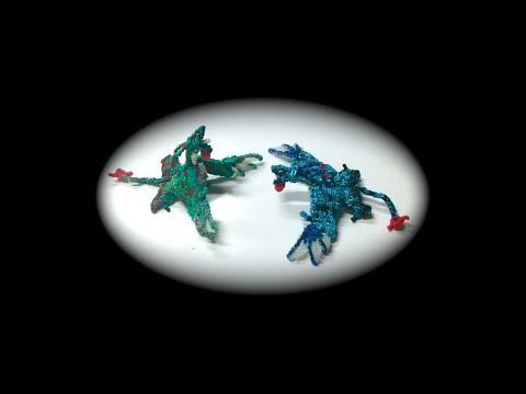 Part 2/5 Rainbow Loom Ikran/Banshee From Avatar, Adult