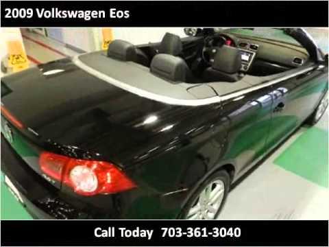 2009 volkswagen eos used cars manassas va youtube. Black Bedroom Furniture Sets. Home Design Ideas