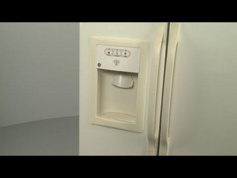 wiring diagram for ge refrigerator amana fridge dispenser disassembly – repair help - youtube