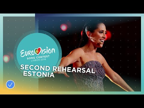 Elina Nechayeva - La Forza - Exclusive Rehearsal Clip - Estonia - Eurovision 2018