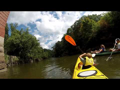 Lower mills, Kayaking Neponset River, Milton, MA Sept 1 2014