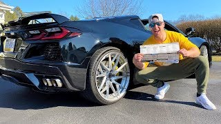 HOW MUCH DID MY C8 CORVETTE COST?!? Ft. The SECRET To Getting an Early Build!