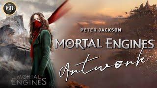 Mortal Engines Digital Painting