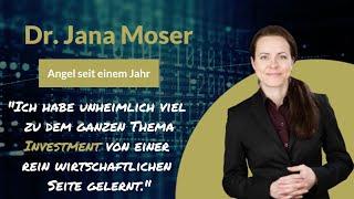 Audio-to-Video Sample: Dr. Jana Moser, Angel Investor - Angels of Deutschland Podcast