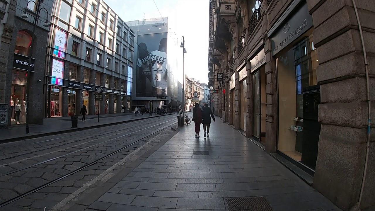 Milano, i giorni del Coronavirus