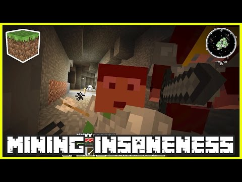Mining Insaneness with GamerGirl karinaOMG | Minecraft