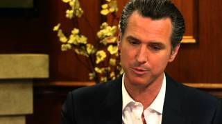 Lt. Governor Gavin Newsom On Same Sex Marriage Legalization | Larry King Now | Ora TV
