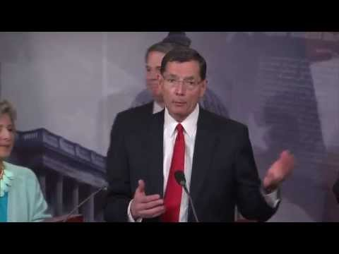 Sen. Barrasso Joins Sen. Vitter to Announce Details of Bipartisan Highway Bill