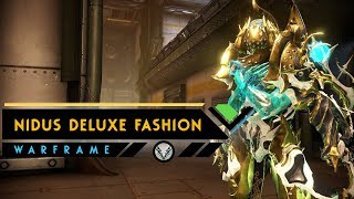 Warframe: NIDUS DELUXE FASHION | The Prime Look We all Want