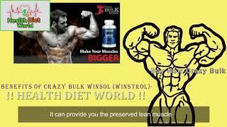 Crazy Bulk Winsol Winstrol Review   Health Diet World