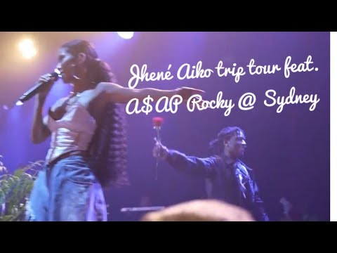 JHENÉ AIKO TRIP TOUR CONCERT @Sydney Feat. A$AP Rocky + Meet And Greet | 26.09.18