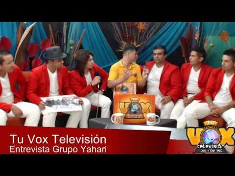 Yahari en exclusiva para Tu Vox Televisión