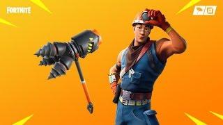 Fortnite new skins. COLE - ROCKBREAKER
