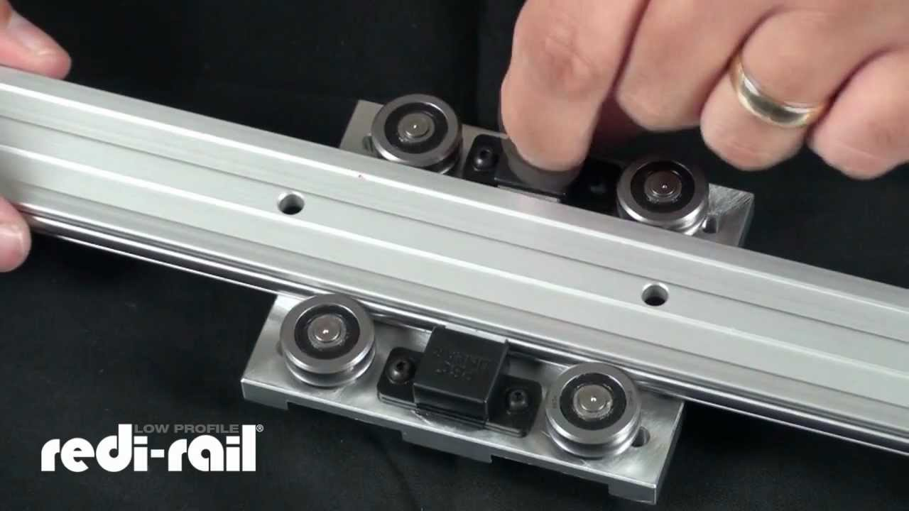 How To Video Adjusting Pre Load On Low Profile Redi Rail