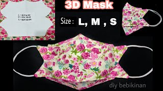 Perfect 3D Face Mask Face Mask Sewing Sewing Tutorial DIY Breathable Face Mask Tutorial facemask
