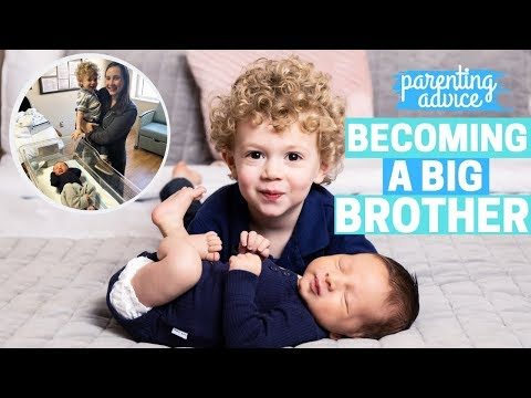 How to Prepare a Toddler for a New Baby BECOMING A BIG BROTHER / SISTER!