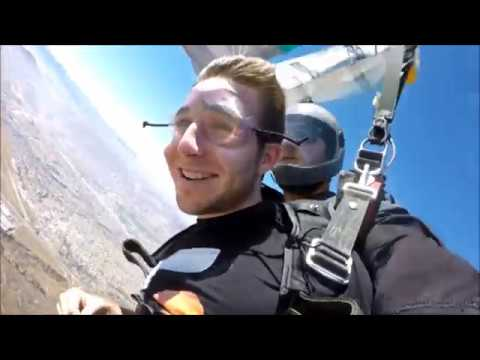 Epic SKYDIVING : First Time Ever