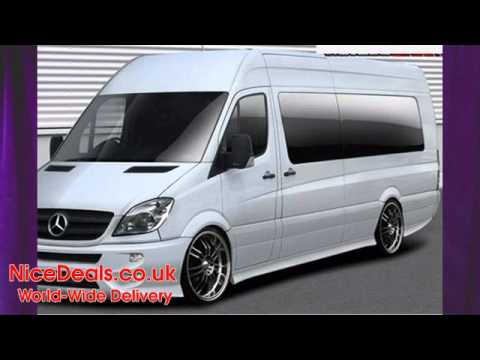 Mercedes Benz Sprinter >> Mercedes Sprinter Body Kits, Bumpers, Side Skirts, Spoilers - YouTube
