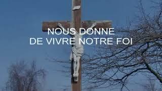 Vers toi, Dieu fidèle et plein d'amour (Chant-thème Carême 2018) M. Dubé