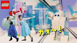 LEGOディズニープリンセスシリーズ、アナと雪の女王のアイスキャッスル...