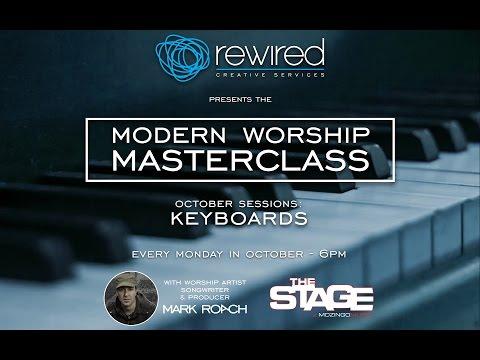 Modern Worship MasterClass - keyboards