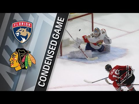 Florida Panthers vs Chicago Blackhawks – Dec. 12, 2017 | Game Highlights | NHL 2017/18. Обзор матча