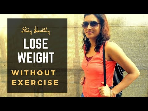 HOW TO LOSE WEIGHT FAST (WITHOUT EXERCISE) | TOP 10 TIPS ON HOW TO LOSE WEIGHT