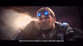 Gears of War: Judgment - Baird Fires Lightmass Bomb, Omega-2 Marcus Fenix Cutscene, Karn Xbox 360