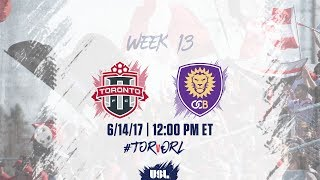 Toronto FC USL vs Orlando City II full match